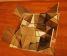 Objektum, rétegeltlemez, tükör, reflexiósüveg, 13x39,5x39,5cm