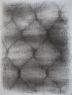 Háló I., szén, papír, 65×50cm