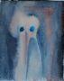Kicsi lény, akvarell, papír, 30×24cm (magántulajdon)