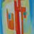 Kislány, olaj, rétegelt lemez, 40×20cm