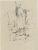 Átjáró III., tollrajz, 20,3×15,3cm
