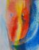 Merengő, akvarell, papír, 30×24cm