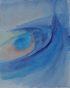 Áramlás, akvarell, papír, 30×24cm