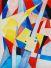 Alaprajz, akvarell, papír, 30×23cm