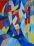 Kereszteződések, akvarell, 30×23cm
